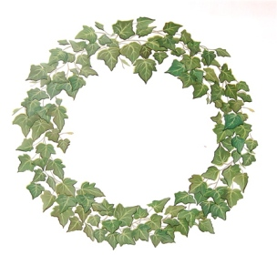 Ivy Topiary Style Wreath