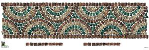 Mosaic Transfer Mural Border