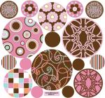 Pink-Brown-dots