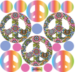 Rainbow-groovy-peace-decals