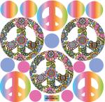 Rainbow-groovy-peace-decals