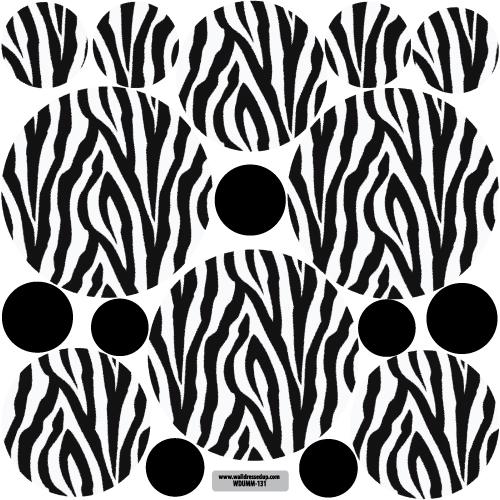 Zebra Print Wall Decals Canada 72